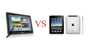 ipad 3 VS Galaxy tab 10.1